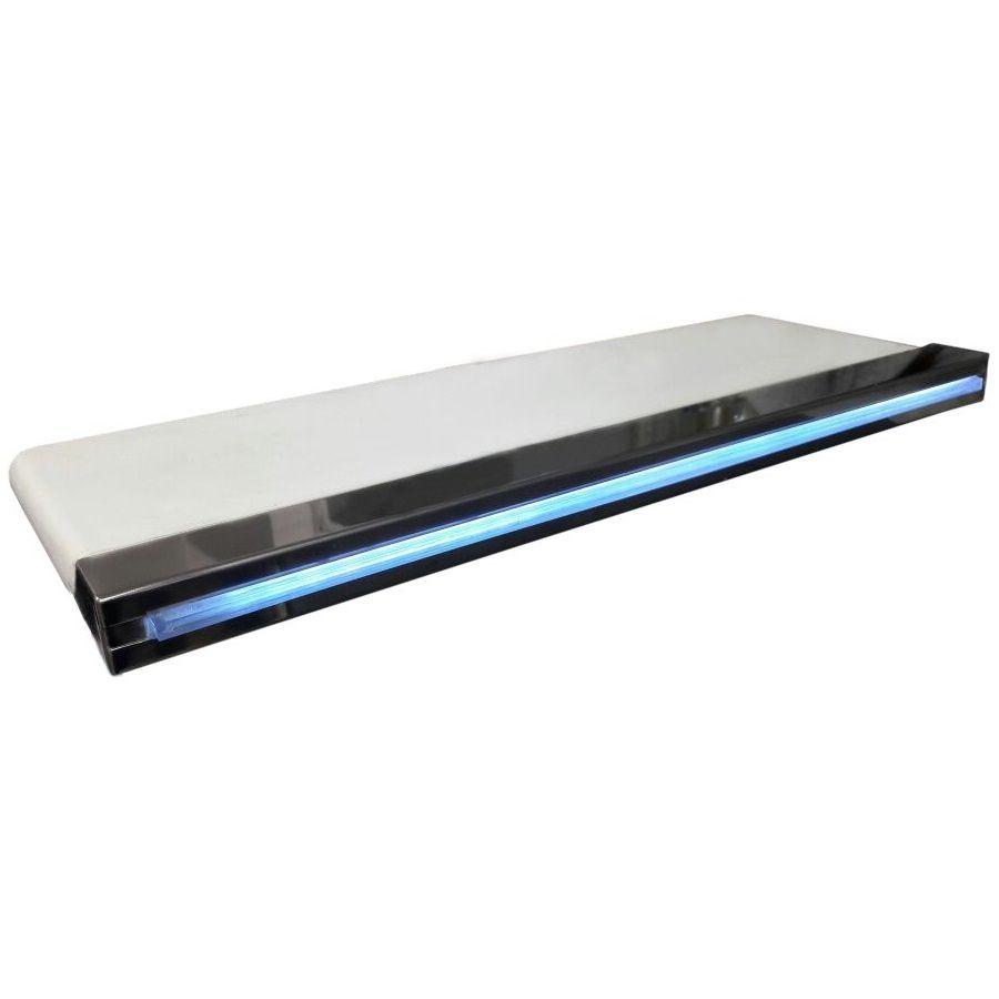 Cascata para Piscina de Embutir Fibra 100 cm com Led