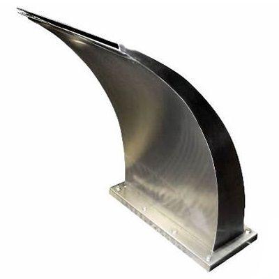 Cascata  para Piscina em Aço Inox Wave Media