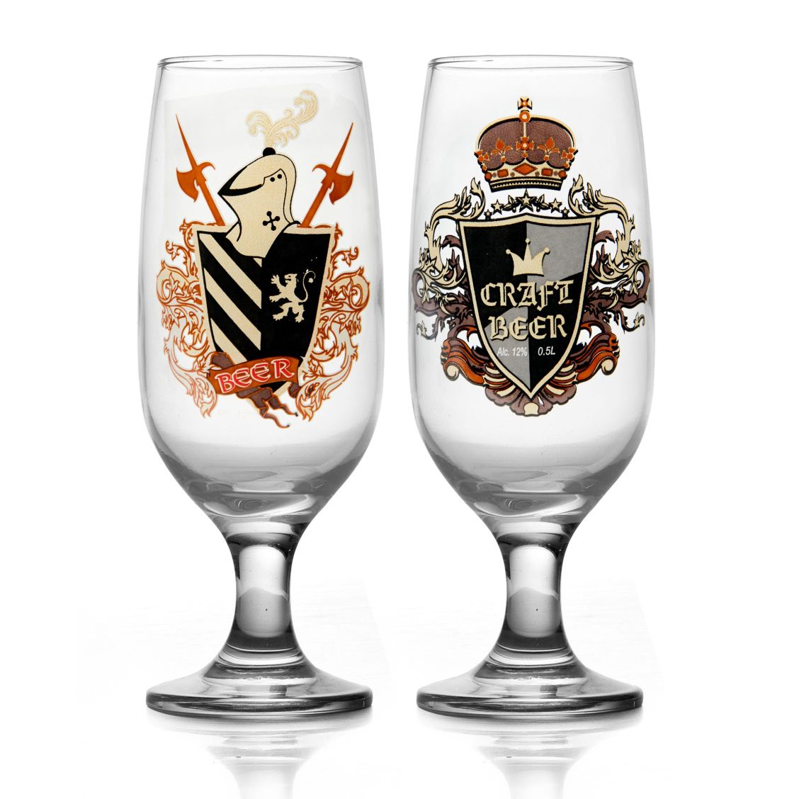 Conjunto 02 Taças Floripa Personalizada Medieval