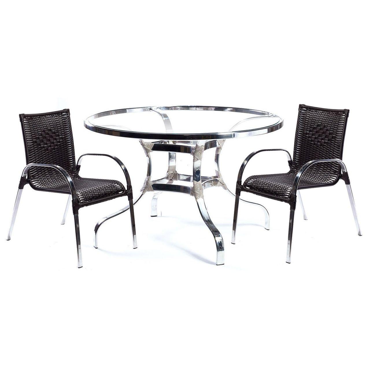 Conjunto Mesa com 4 Cadeiras Miami - Rogman