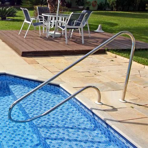 Corrimão Ilha Bella para piscinas - Aquafast