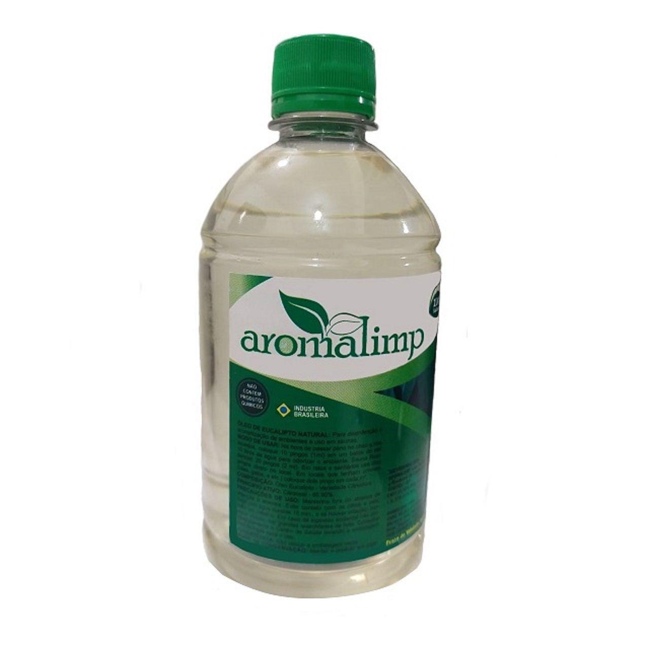 Essência de Óleo de Eucalipto para Sauna Aromalimp 500 ml