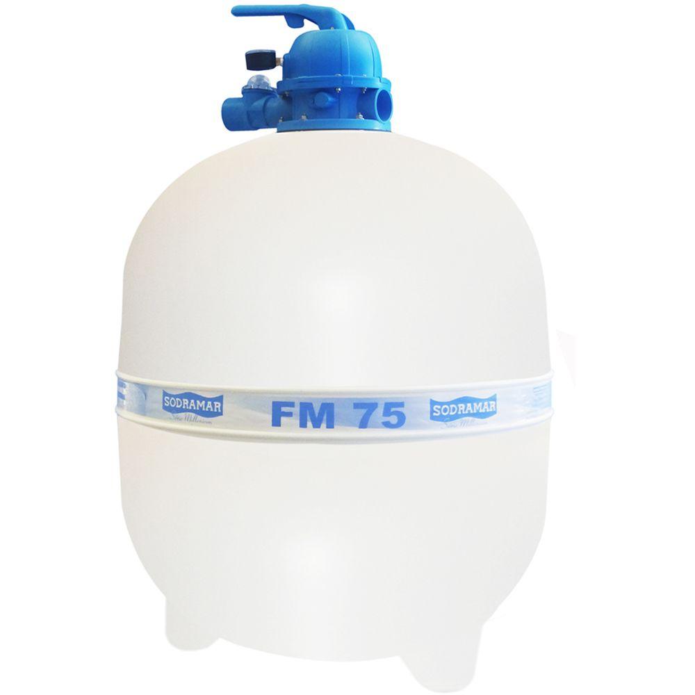Filtro FM-75 para Piscina até 176 mil litros Sodramar