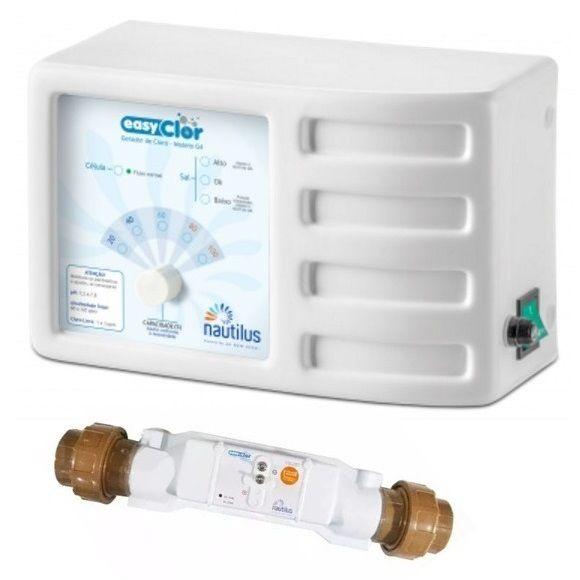Gerador de Cloro para Piscina EasyClor Modelo G-4 15 AL