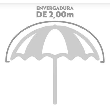 Guarda Sol 2.00 Metros Sortido - Mor