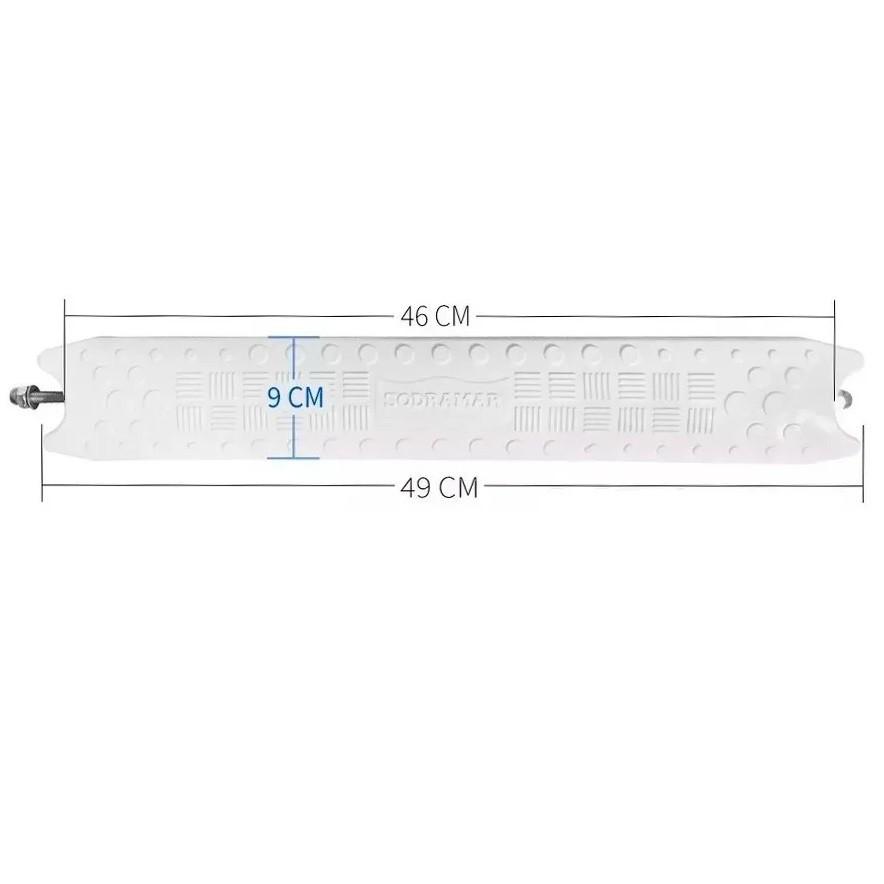 Kit 2 Degraus ABS Anatômico Completo Para Escadas 1 1/2 - Sodramar