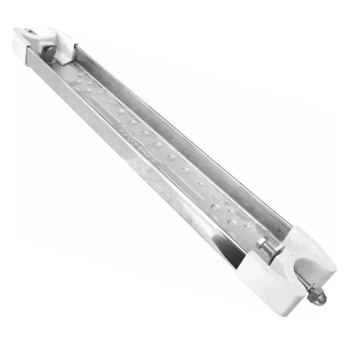 Kit com 3 Degraus Inox Anatômico Completo Para Escadas 1 1/2 - Sodramar