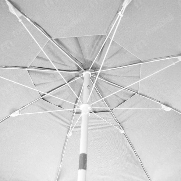 Ombrelone Articulado Bagum 2,50 m Branco - Belfix