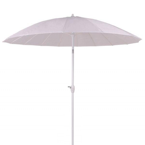 Ombrelone Articulado Chino 2,50 m Branco - Bel Fix