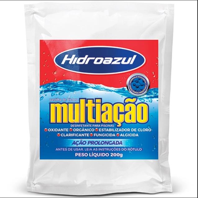 Pastilha - Hidroazul Multiaçao