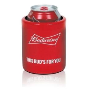 Porta Latas Em Aluminio - Doctor Cooler Budweiser 350 Ml