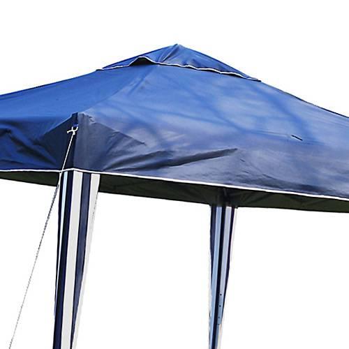 Tenda Gazebo X-Flex Oxford com Silvercoating Azul 3m x 3m