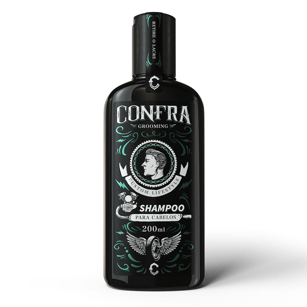 Kit Limpeza Profunda - Shampoo para Cabelos + Shampoo para Barba