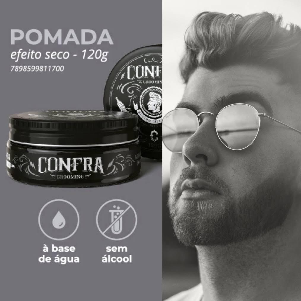 Pomada Efeito Seco Confra Grooming