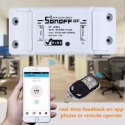 Automação Sonoff R2 Basic RF433mhz 1 canal 10ampere 110v220v