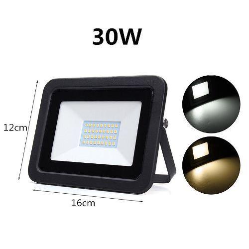 Refletor Led 30w  Mult-led  IP66 6500k 2700 Lumens bi-volt
