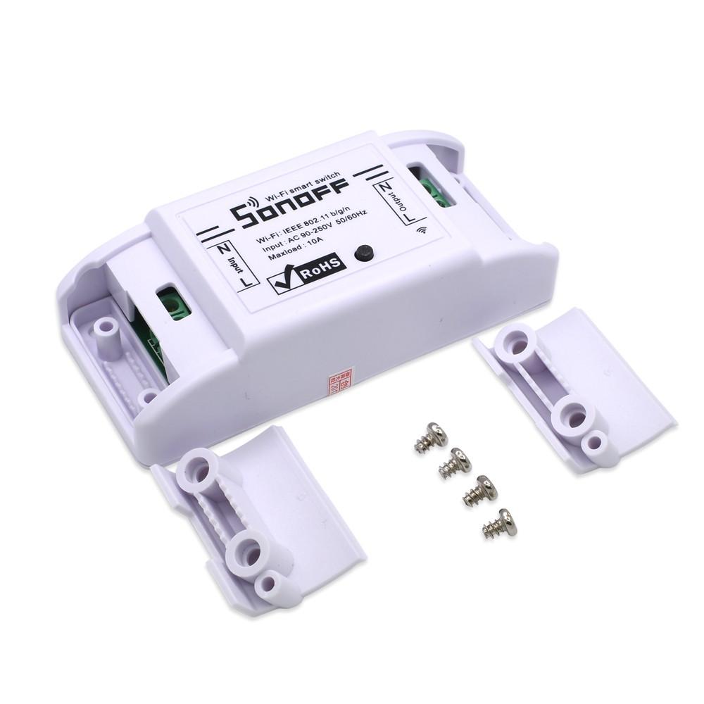 Automação Sonoff R2 Basic Wifi 1 canal 10ampere 110v220v