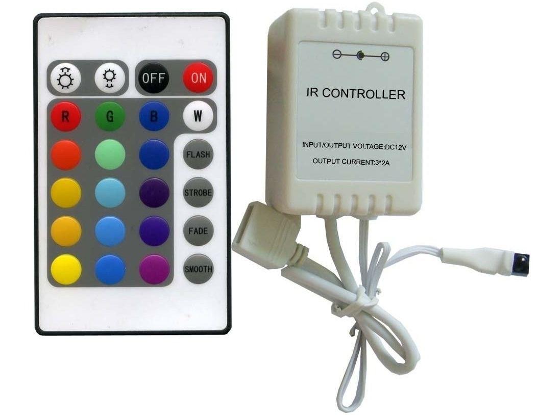 Controladora  Rgb analogica c/controle 14funçoes