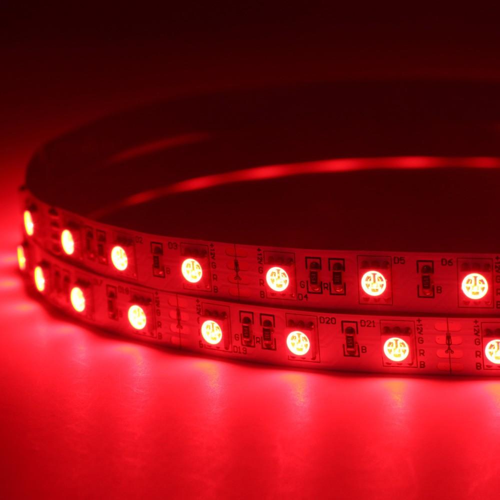Fita Led 5050 IP65 14,w/m 12v  luz Vermelho 5 metros