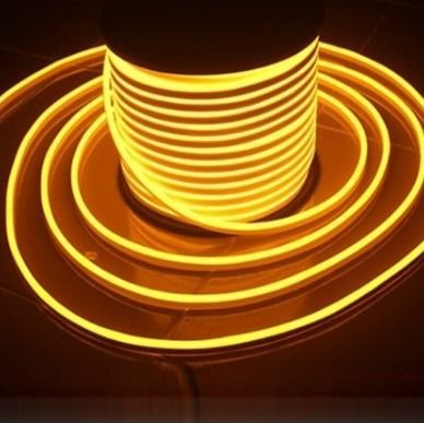 Fita Neon Flex 9,6 watts 3000K Luz amarela 127v