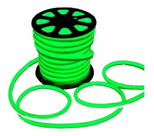 Fita Neon Flex Led 9,6 watts Verde 110v
