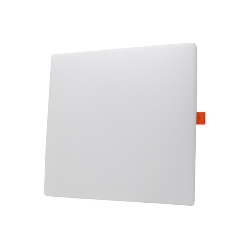 Plafon 18w emb.  borda infinita 12cm Luz branca bi-volt