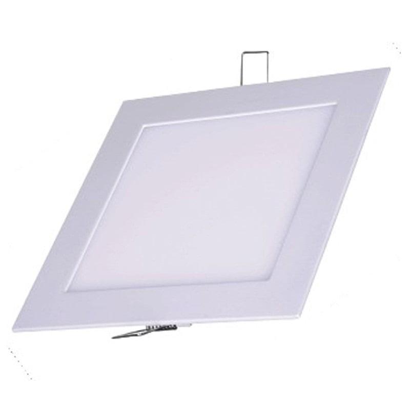 Luminária Painel embutir Led 12w 6500k Luz Branca bi-volt