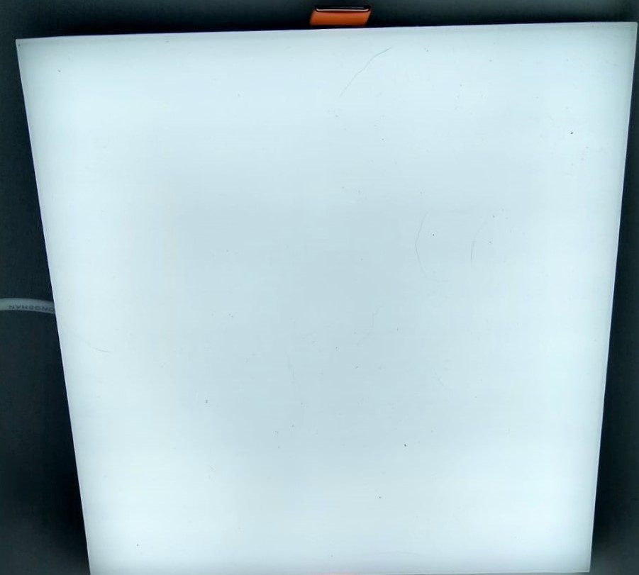 Plafon 24w emb. borda infinita 17cm Luz branca bi-v