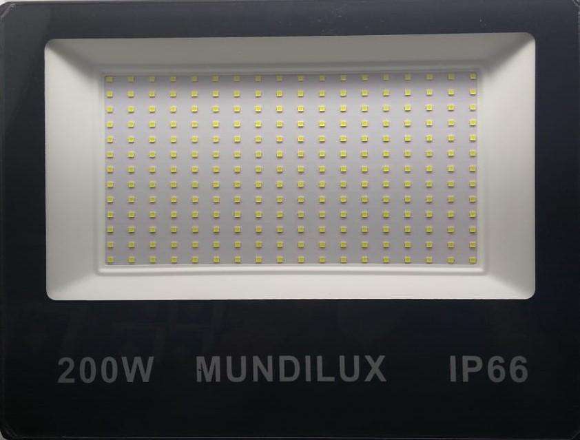 Refletor Led 200w  IP66 18.000 Lumens Luz branca bivolt