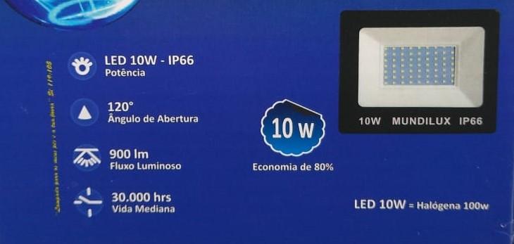 Refletor Verde Led 10 watts Ip66 bi volt