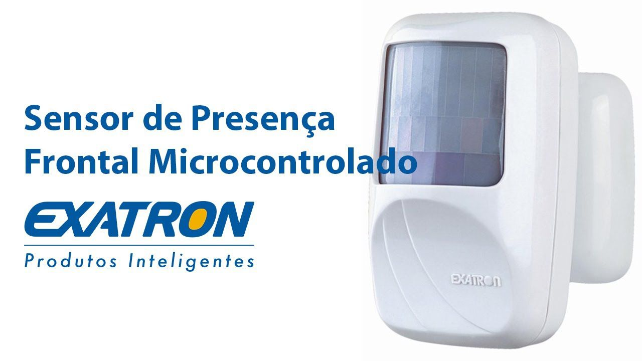 Sensor de Presença Frontal sobrepor interno Xcontrol Exatron