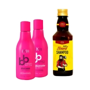 Kit BBCream Shampoo & Condicionador Multifuncional - Ganhe Um Shampoo Hard