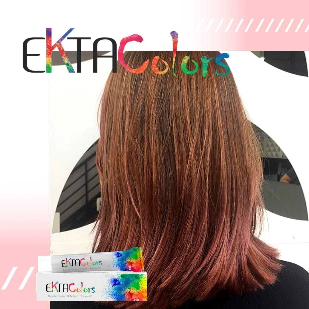 Coloração Ekta Colors - 8.26 MARSALA