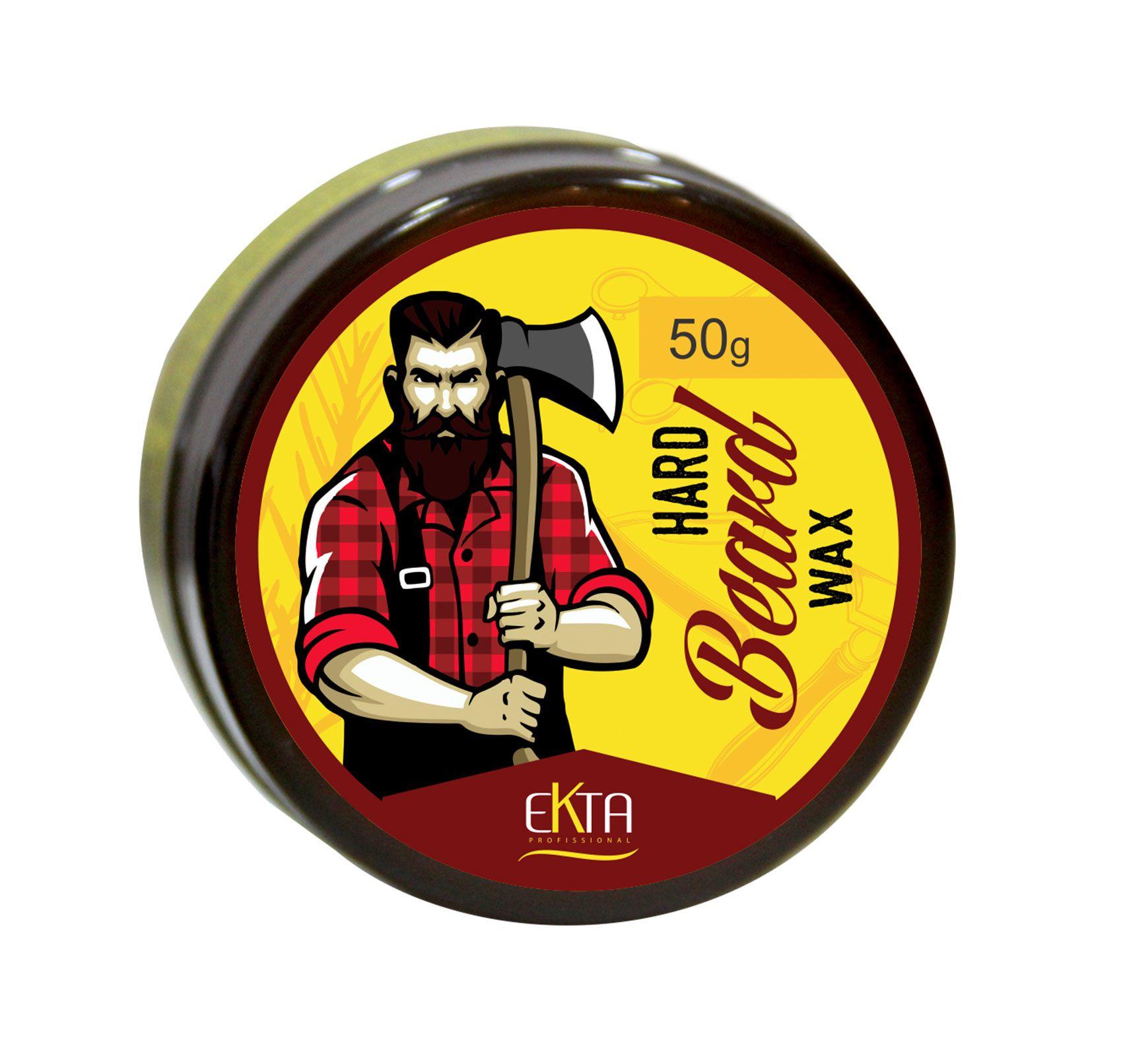 Cera Modeladora Hard Beard (50g)