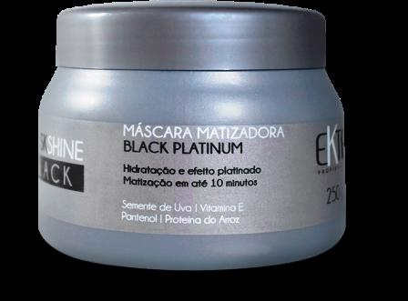 Máscara Mask Shine BLACK Matizadora Efeito Platinum (250g)