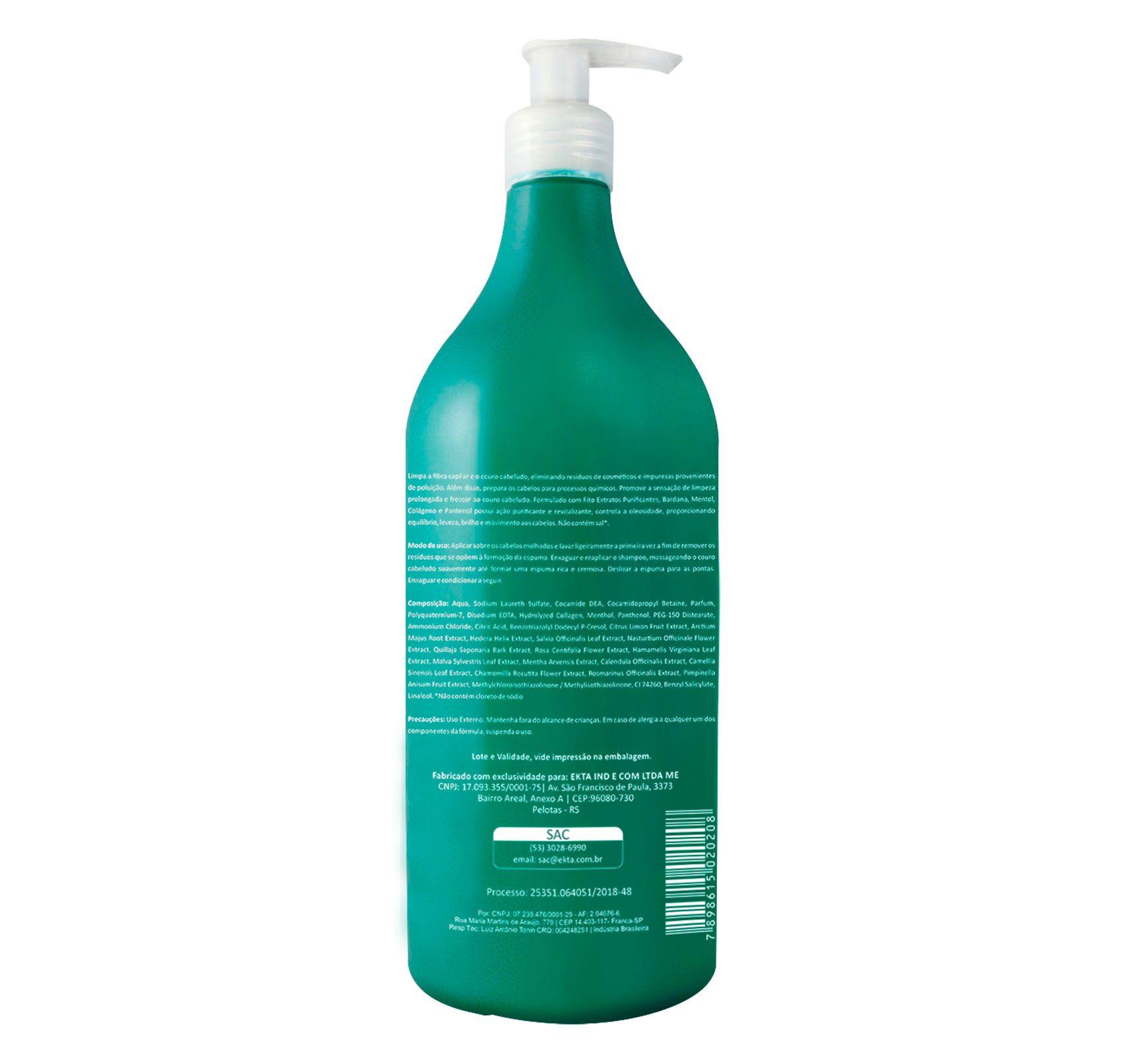 Shampoo Purify Detox (1L)