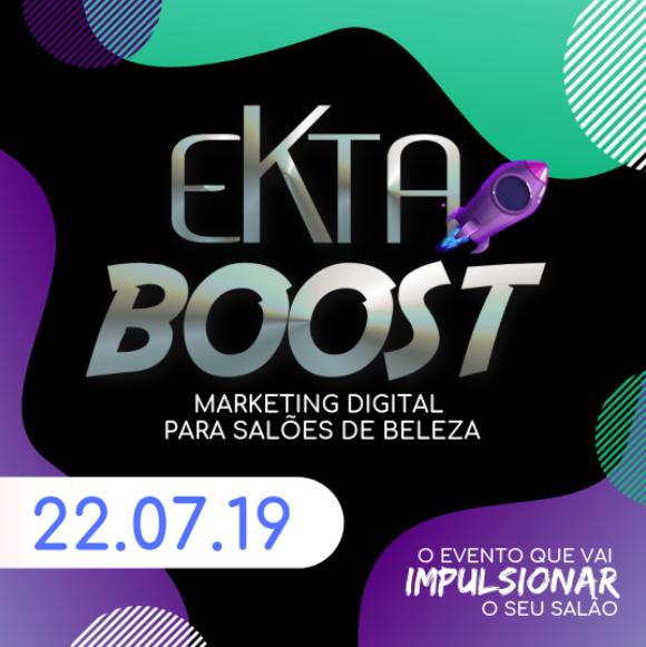 WORKSHOP EKTA BOOST | 29.07.19 Marketing Digital para Profissionais da Beleza