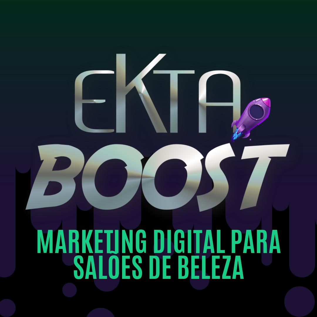 WORKSHOP EKTA BOOST | 28.10.19 Marketing Digital para Profissionais da Beleza