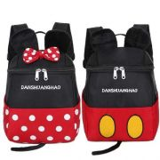 Mochila Escolar Mickey Minnie