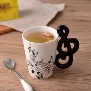Caneca xícara de Café Nota Musical - Pronta Entrega