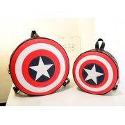 Bolsa Mochila Escudo Capitão América