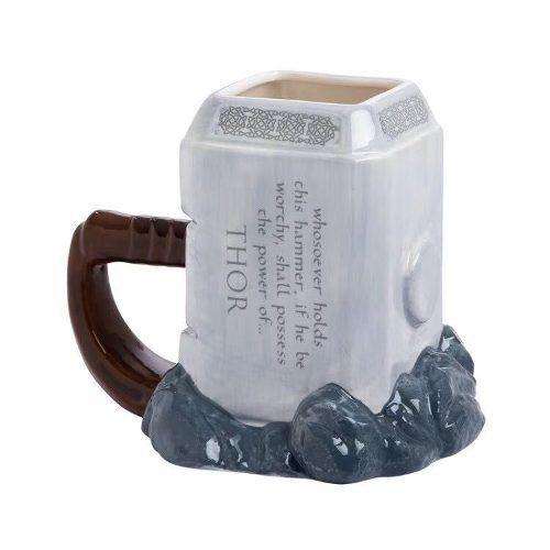 Caneca Mjölnir Martelo Do Thor