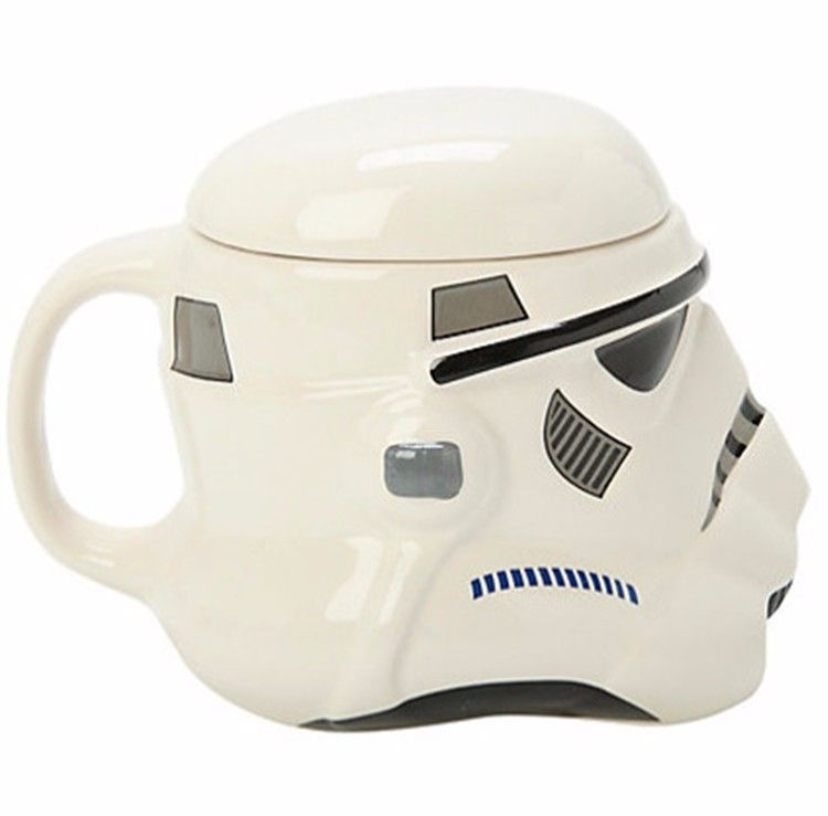 Caneca Cerâmica Star Wars Darth Vader 3D 420ml