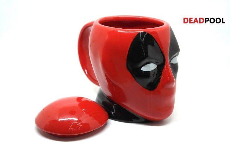 Caneca Deadpool 3D