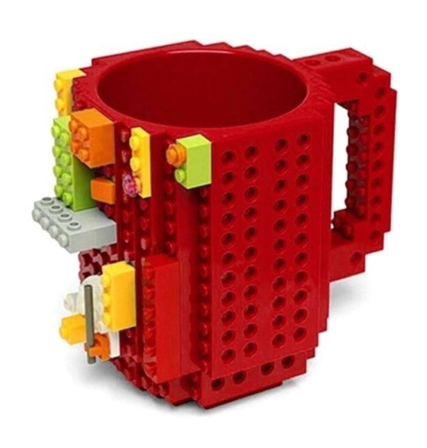 Caneca Lego Geek - Várias Cores - Colecionável