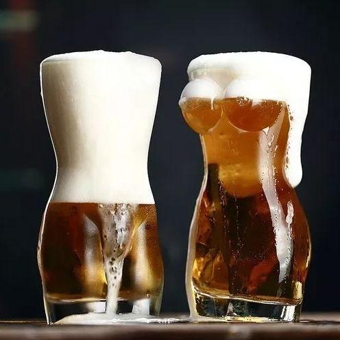 Copo Cerveja Mulher Pelada Homem Pelado 700ml