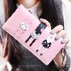 Pink - Carteira Long 3 Gatinhos