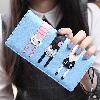 Blue - Carteira Long 3 Gatinhos