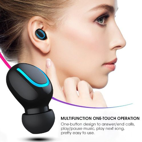 Fone De Ouvido Sem Fio Bluetooth 5.0 HBQ-Q32 Dual Tws Original - Frete Grátis