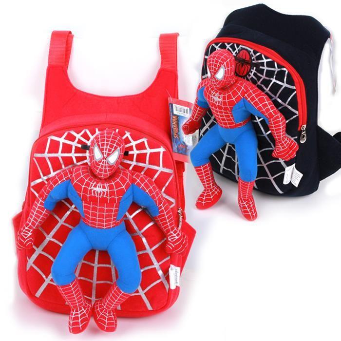 Mochila Homem Aranha 3D